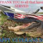 To all Veterans. Thank you for your service. (See photo) Photo