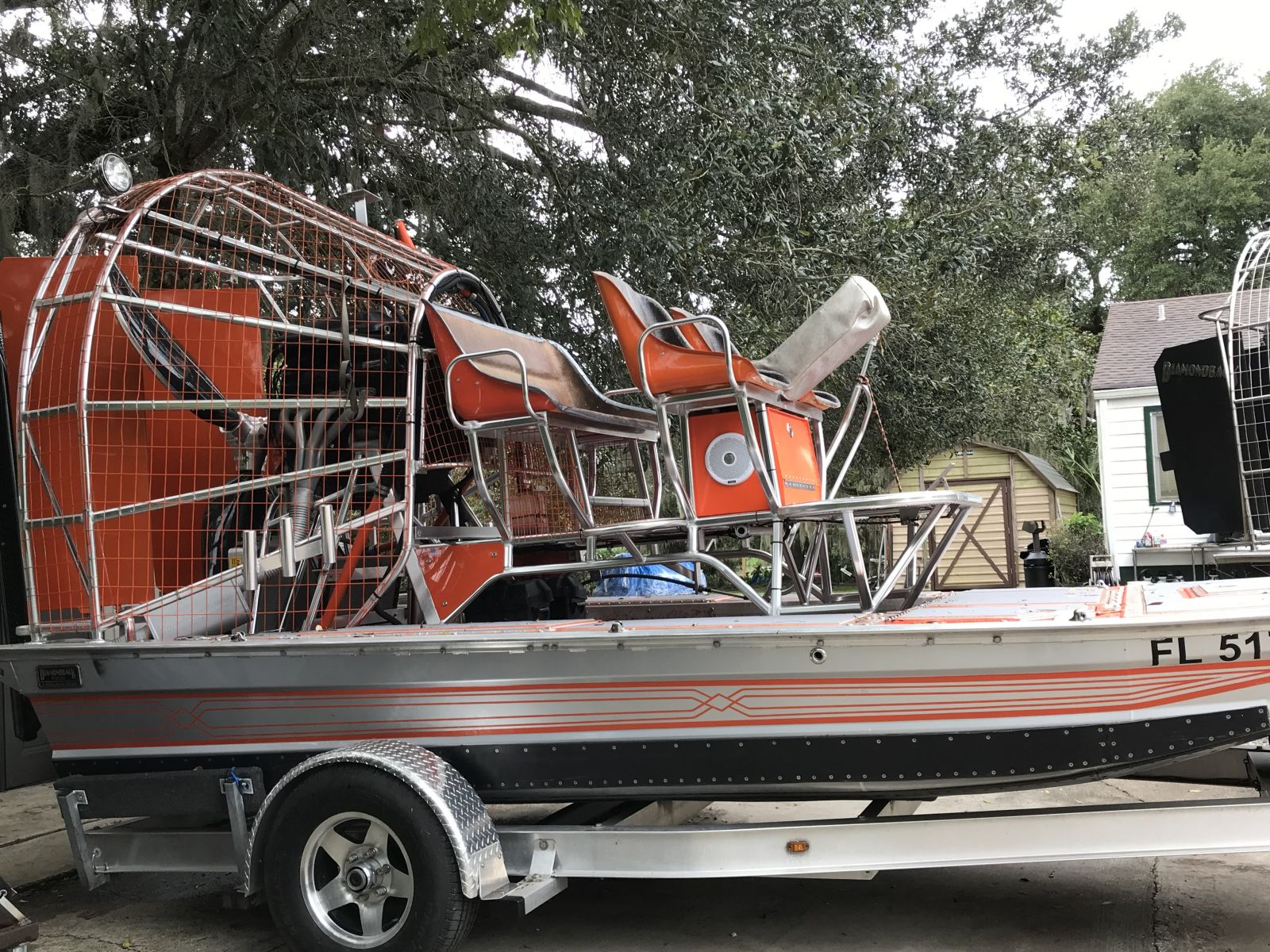 NEW! Deluxe 3 passenger private tour boat    New Orleans